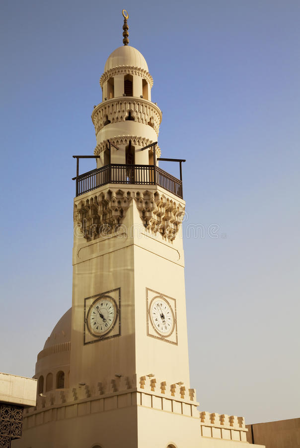 Download Manama's Little City Mosque, Bahrain Stock Photo - Image: 14580400
