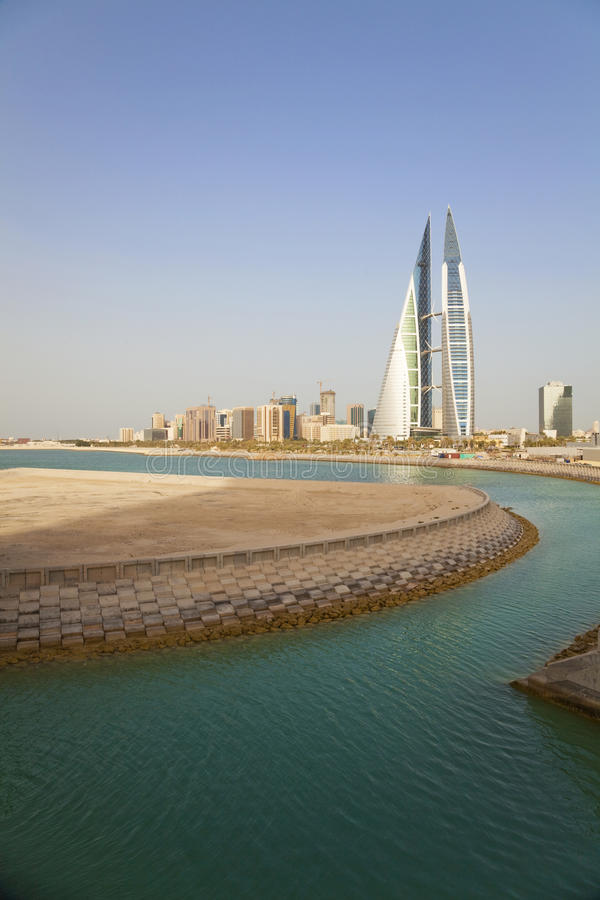 Download Manama View, Bahrain stock image. Image of majestic, buildings - 14582649