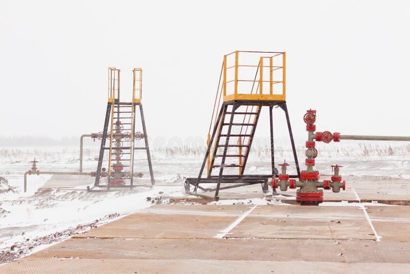 Manantial del petróleo imagen de archivo
