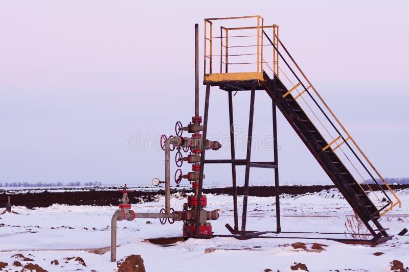 Manantial del petróleo fotografía de archivo