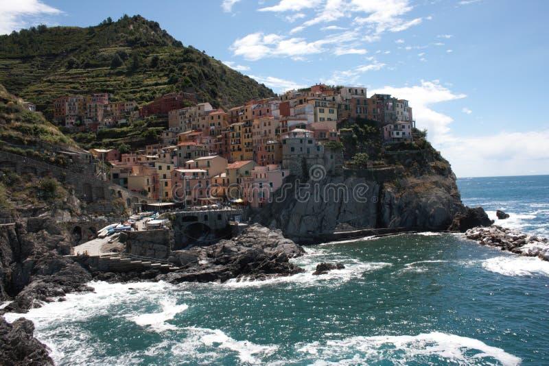 manarola Италии стоковое фото