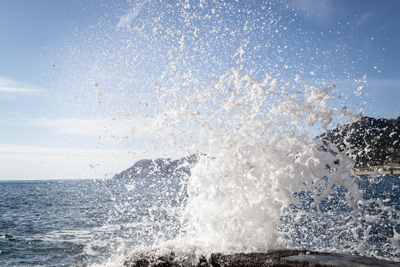 Manarola, Cinque Terre lizenzfreie stockbilder