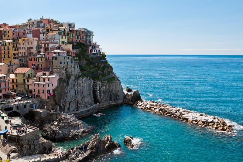 Manarola, Cinque Terre, Italy stock image