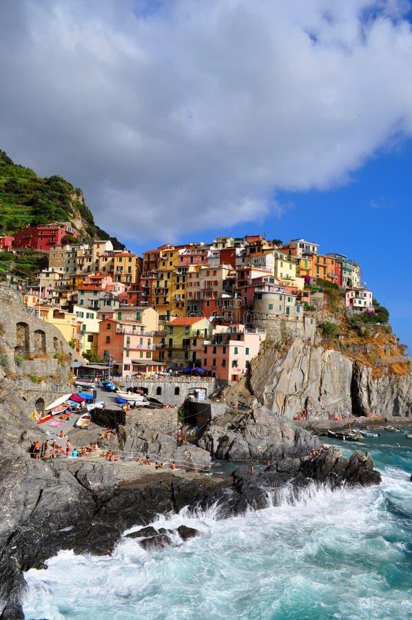 Manarola Cinque Terre, Italy Editorial Stock Photo