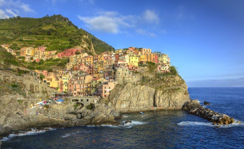 Manarola - Cinque Terre, Italy stock photo