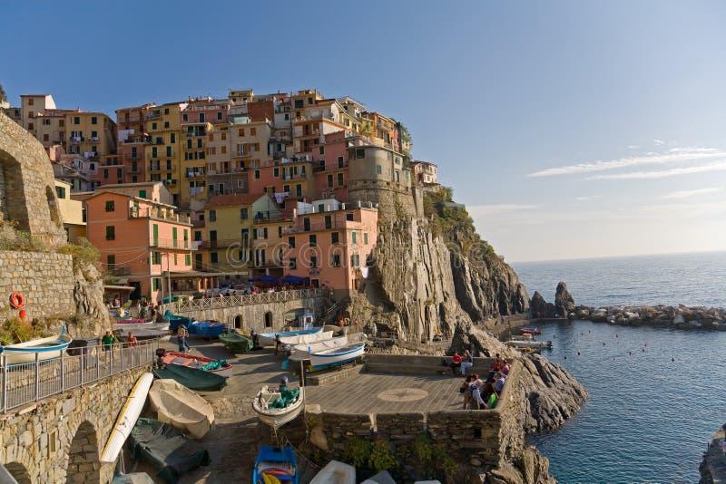 Manarola Italien stockfotos