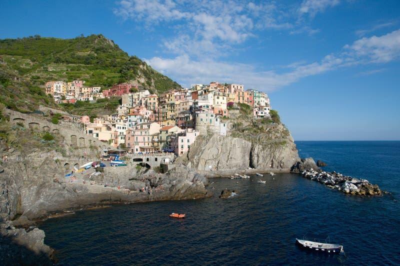 Manarola, Liguria, Italia imagen de archivo libre de regalías
