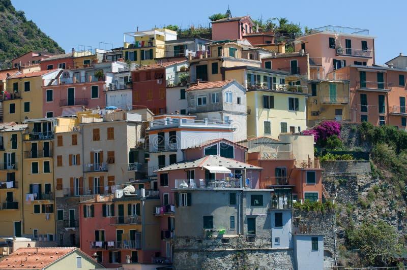 Manarola, Ligurie, Italie images stock