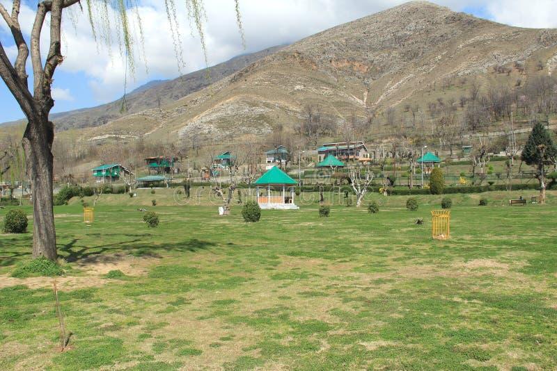 Garden In Kashmir. stock image