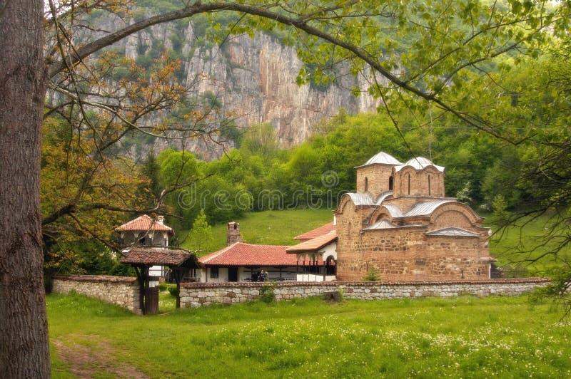 Manastery di Poganovo fotografie stock libere da diritti