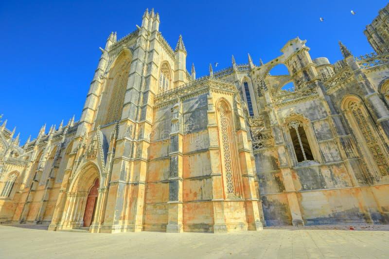 Manastery e cattedrale di Batalha fotografie stock libere da diritti
