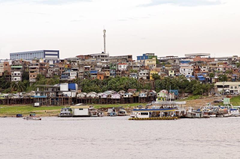 Manaus Brasilien fotografering för bildbyråer