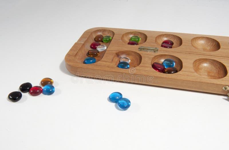 Mancala-Brettspiel lizenzfreies stockbild