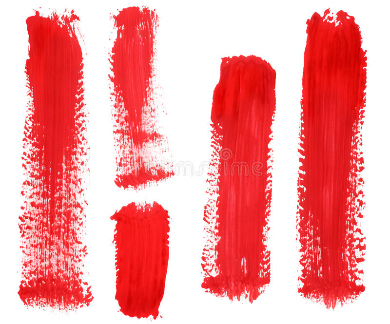 Mancha de óxido de la pintura imágenes de archivo libres de regalías
