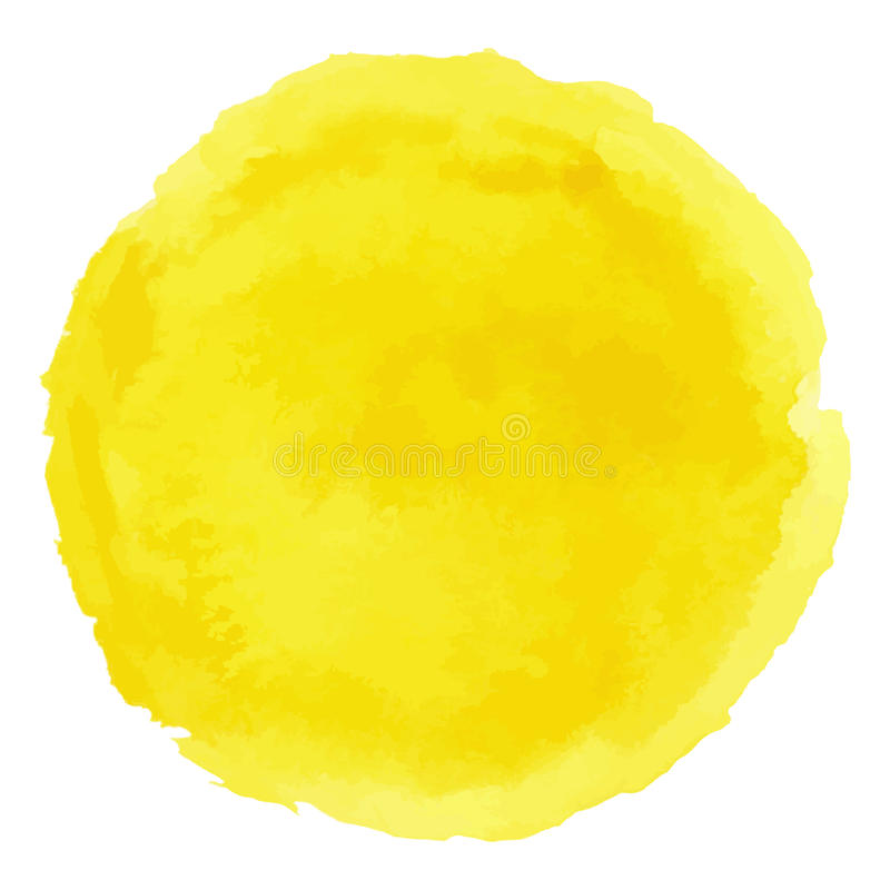 Pistas del AI 2017 Mancha-pintada-acuarela-amarilla-brillante-del-vector-94166887