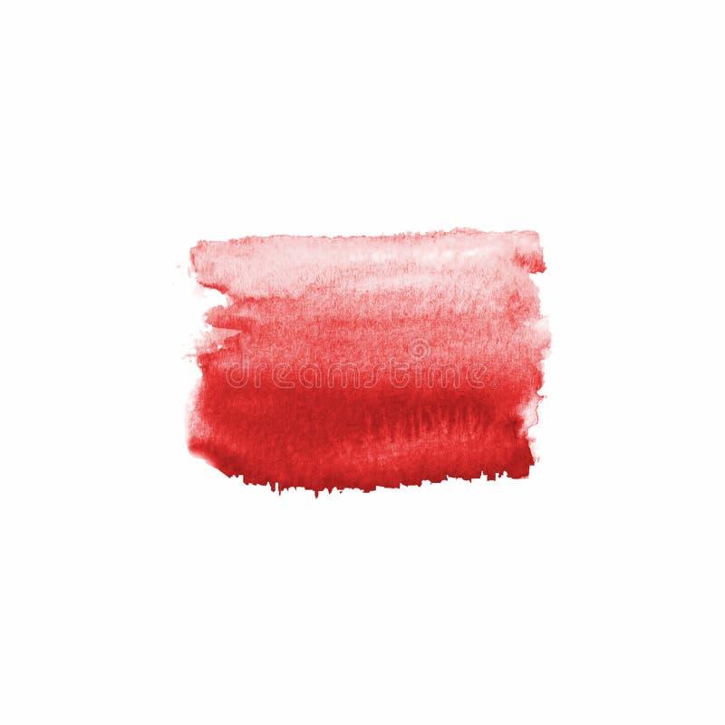 Mancha roja sangre abstracta foto de archivo