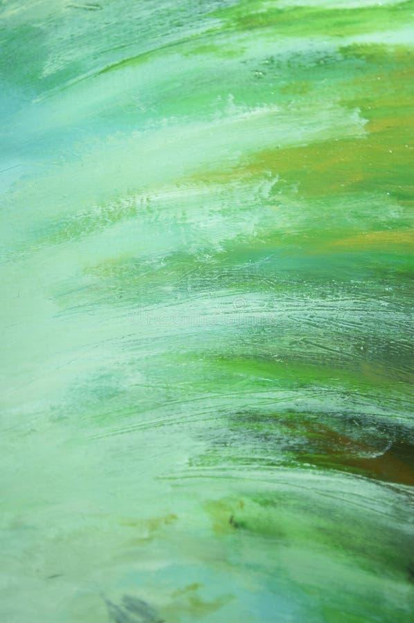 Manchas abstratas do verde   ilustração stock