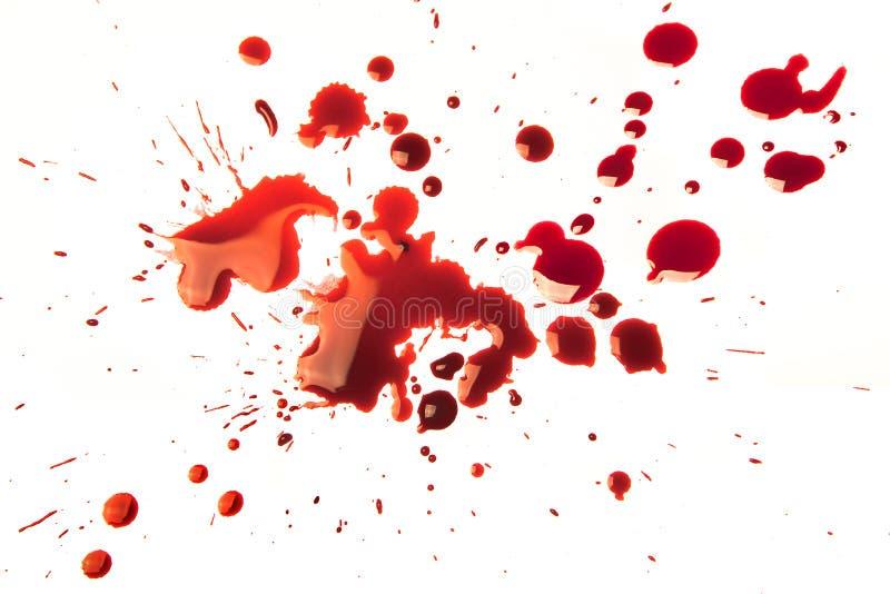 Manchas de óxido de sangre fotos de archivo libres de regalías