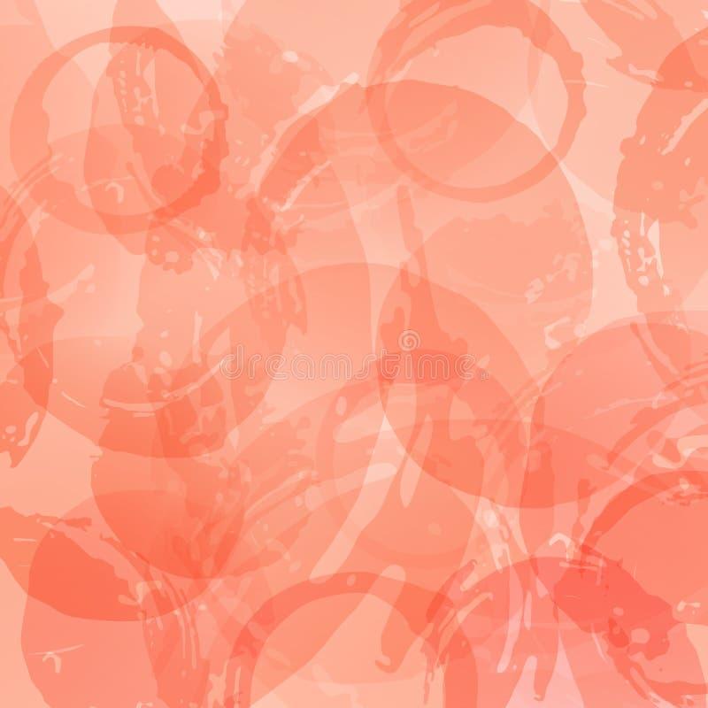 Manchas do vinho do fundo Cor do vinho cor-de-rosa ilustração royalty free
