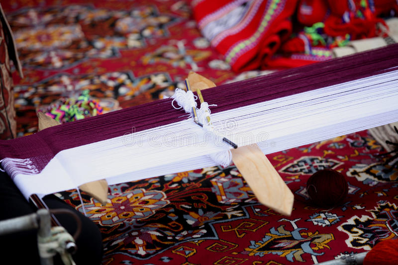 Manche arabe traditionnel image stock
