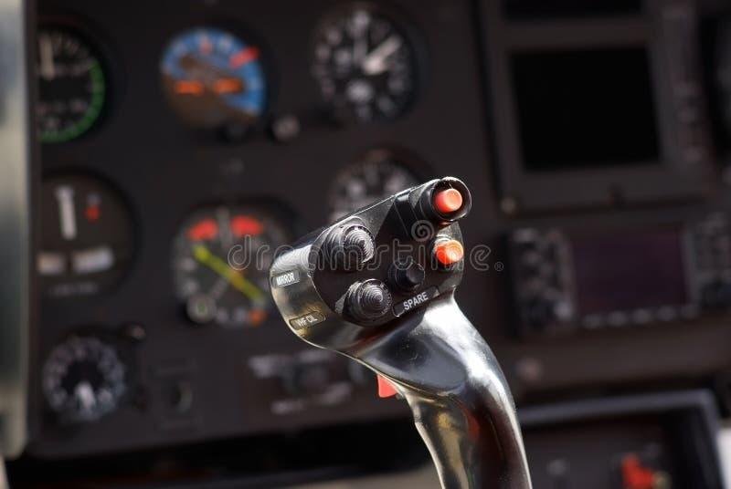 Manche d'hélicoptère image stock