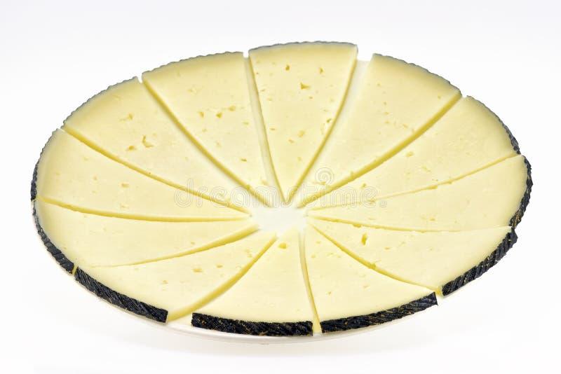 manchego сыра отрезает некоторое стоковое изображение