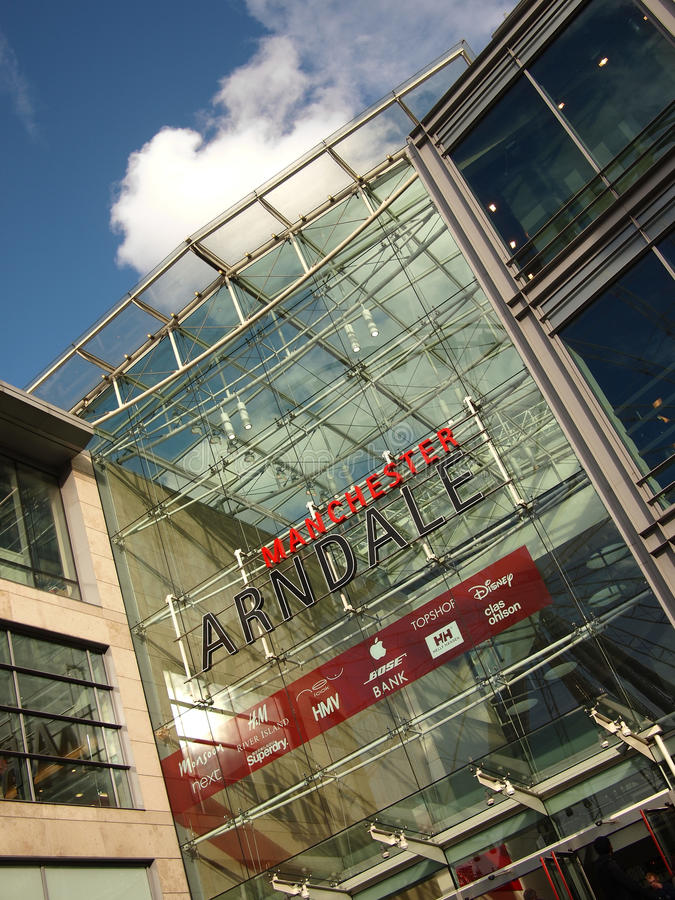Download Manchester Arndale Centre editorial photography. Image of brands - 33679077