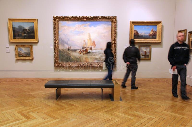 Manchester Art Gallery immagini stock libere da diritti