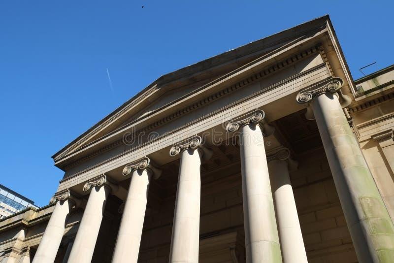 Manchester Art Gallery Details royalty-vrije stock afbeeldingen