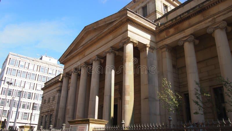 Manchester Art Gallery, Inghilterra del Nord fotografia stock