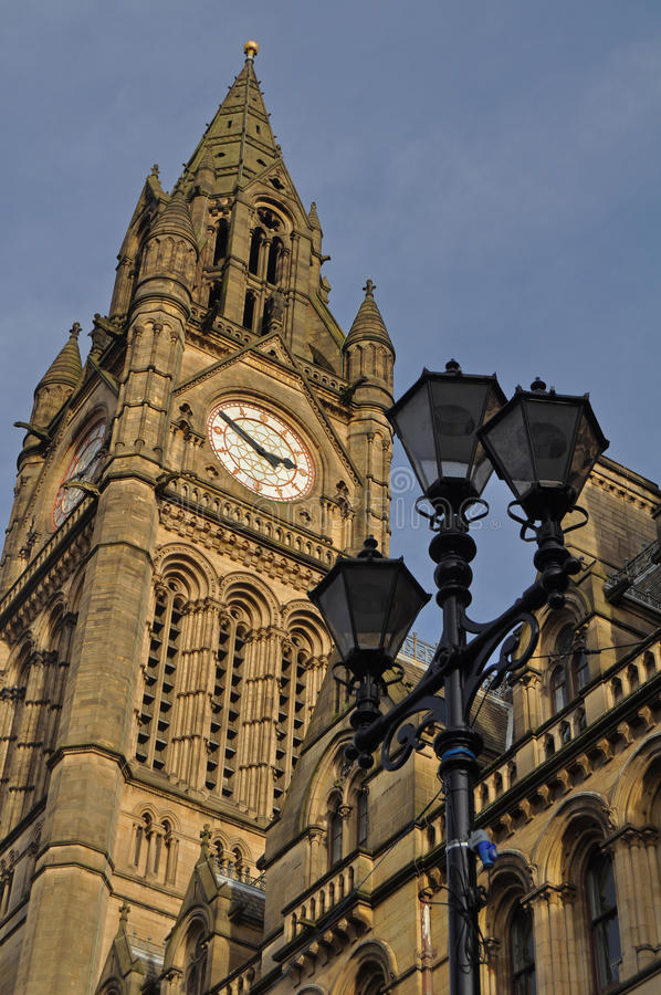 Manchester City centre. A representative shot op Manchester city centre in the UK stock photography