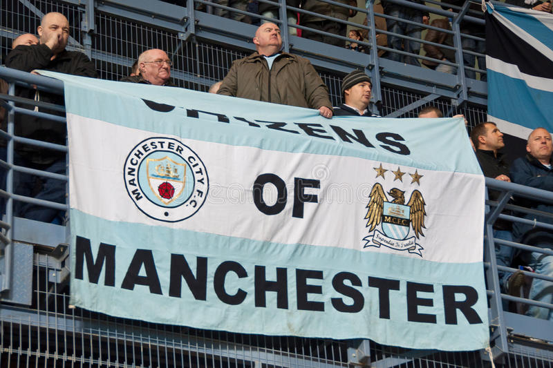 Manchester City stock image