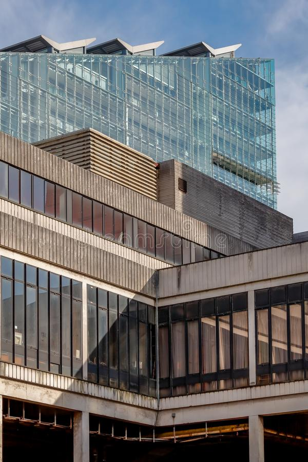 Manchester Cityscape Architecture stock images