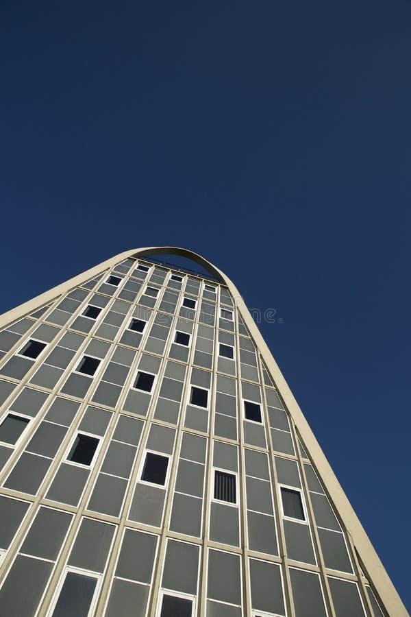 Manchester, Groter Manchester, het UK, Oktober 2013, het beroemde die gebouw als het Toostrek wordt bekend of Hollings-de Bouw royalty-vrije stock afbeeldingen