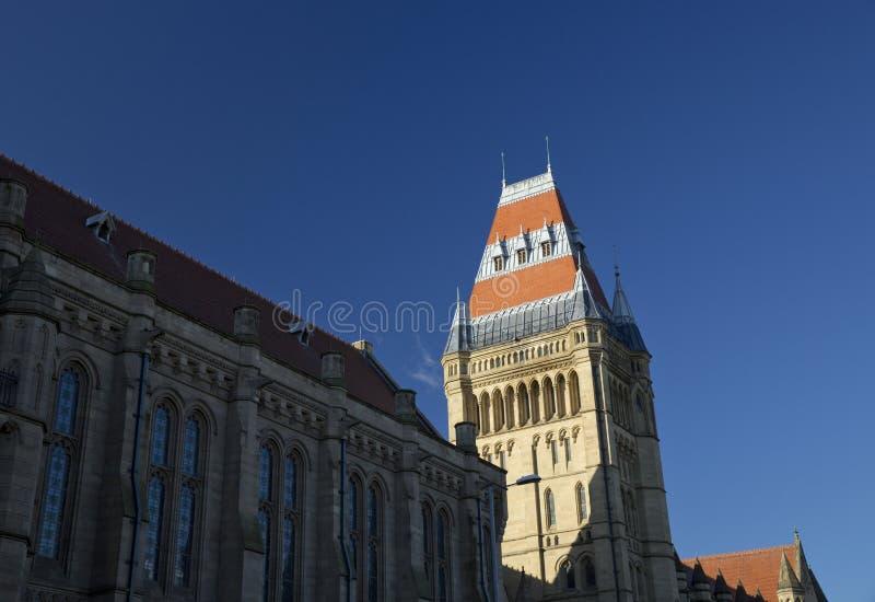 Manchester, Groter Manchester, het UK, Oktober 2013, Whitworth-de Bouw, Universiteit van Manchester stock fotografie