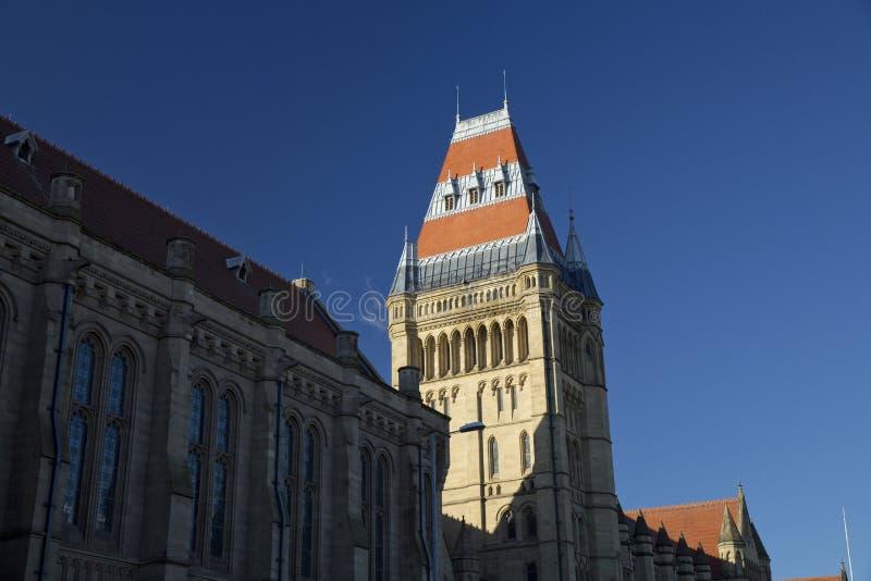 Manchester, Groter Manchester, het UK, Oktober 2013, Whitworth-de Bouw, Universiteit van Manchester stock afbeeldingen
