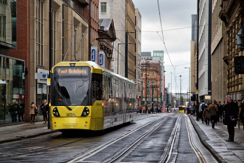 Manchester Metrolink photo libre de droits