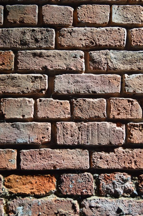 Manchester Museum of Science and Industry. Museum of Science and Industry Liverpool interior detail shot of very old bricks in railway shed. Situated on the site royalty free stock photos