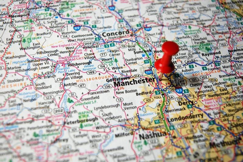 Manchester New Hampshire royaltyfria foton