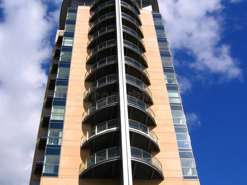 Manchester nowoczesne, w budynku obraz stock