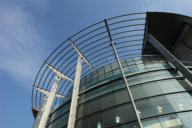 Manchester office building stock photography