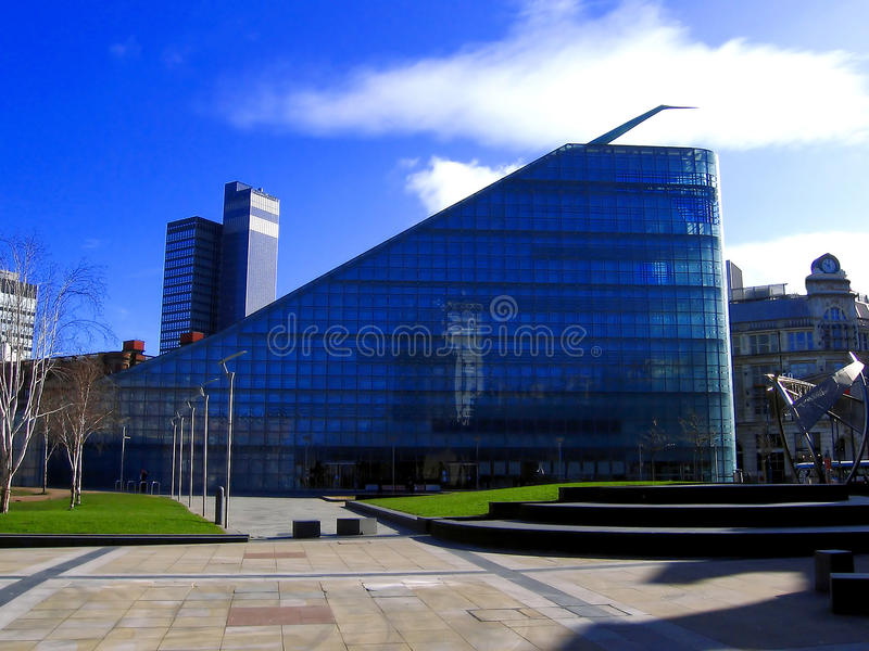 Manchester, Regno Unito, grattacielo moderno fotografie stock
