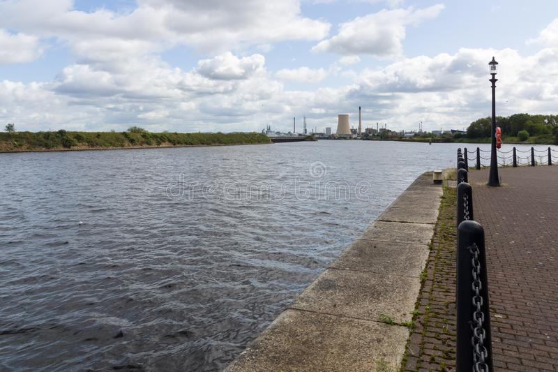 Manchester Ship Canal stock image
