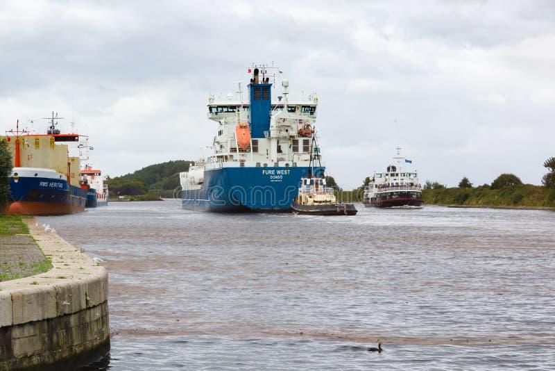 Manchester Ship Canal photographie stock libre de droits