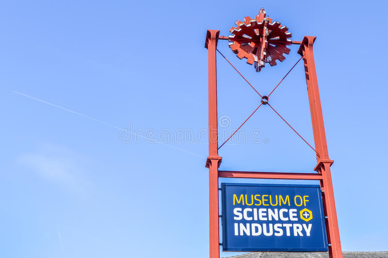 Manchester, UK - 04 April 2015 - Museum of Science and Industry stock photos