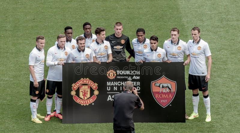 Manchester United fotografie stock libere da diritti
