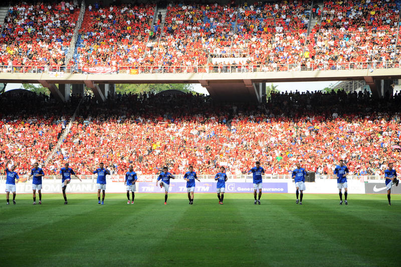 Download Manchester United Asia Tour 2009 Editorial Photography - Image: 10382417