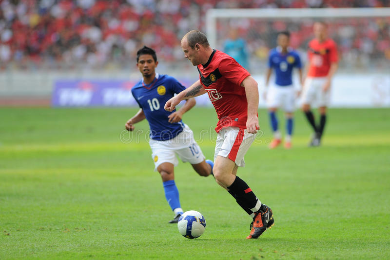 Manchester United Asia Tour 2009 royalty free stock images