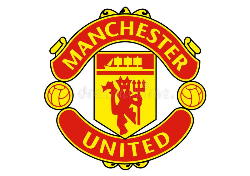 Manchester United logo ilustracja wektor