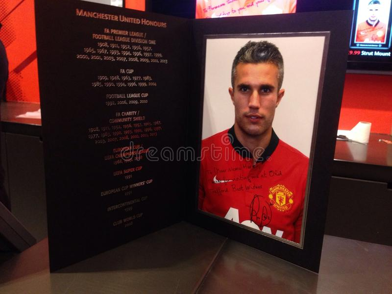 Manchester United Player royalty free stock photo